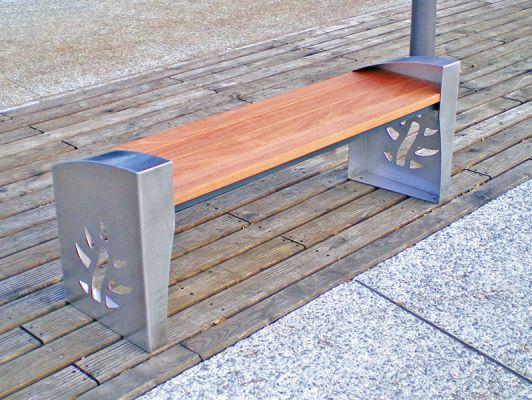 vente et location de mobilier urbain mobilier de repos banc seine maritime cip publicite. Black Bedroom Furniture Sets. Home Design Ideas